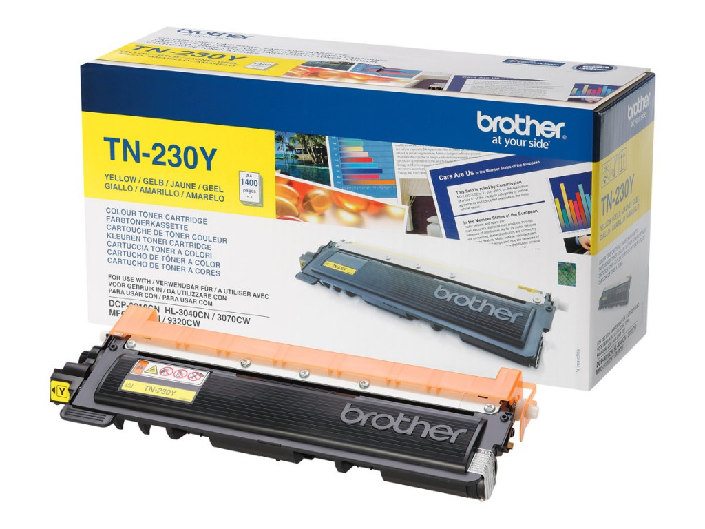 BROTHER TONER JAUNE 1400 PAGES
