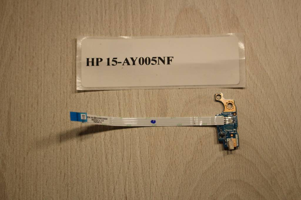 HP 15-AY005NF  Module bouton power LS-C701P