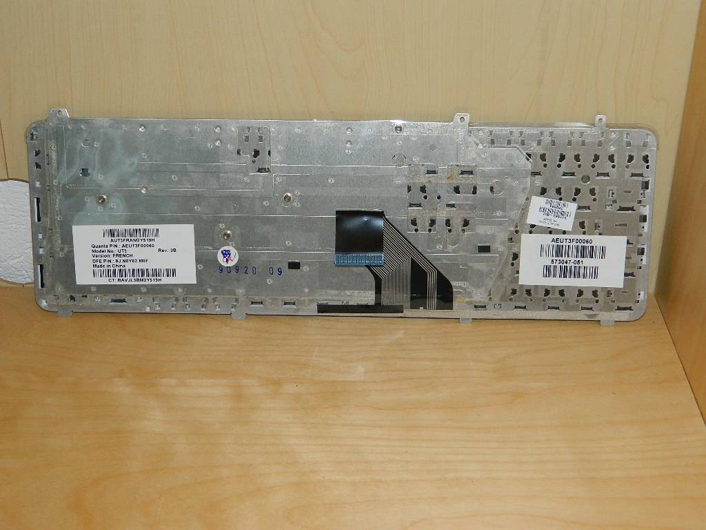 HP DV6-2007sf  Clavier AZERTY 517863-051/573047-051