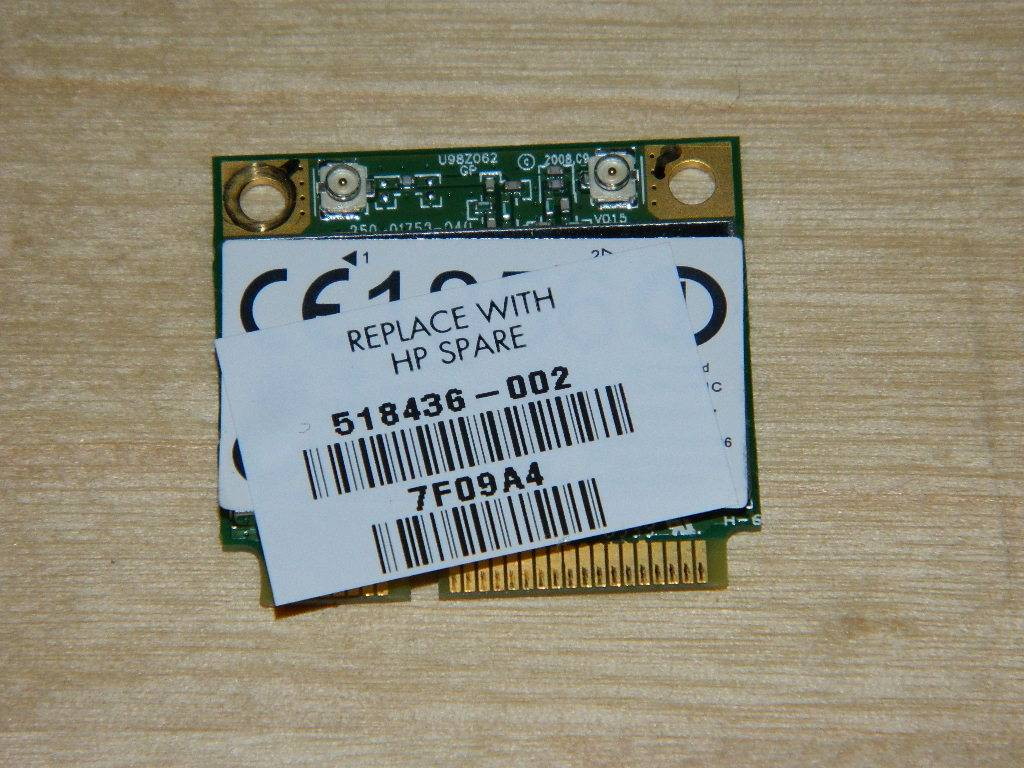 HP DV6-2007sf  Carte wifi 518436-002